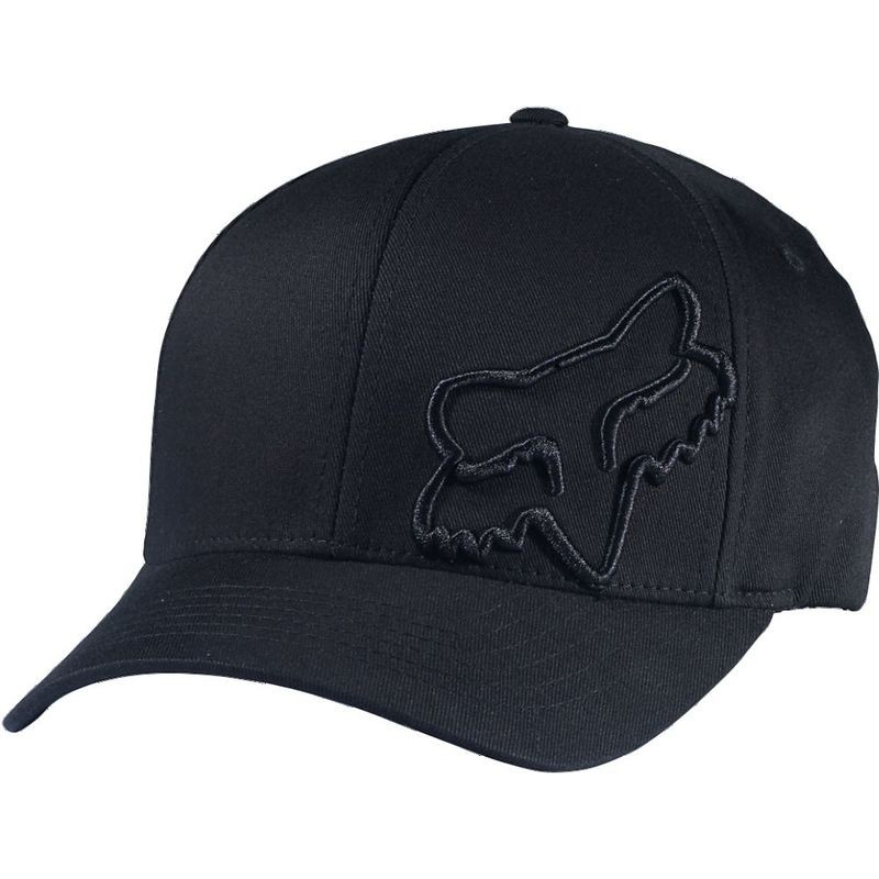 CZAPKA Z DASZKIEM FOX FLEX 45 BLACK S/M
