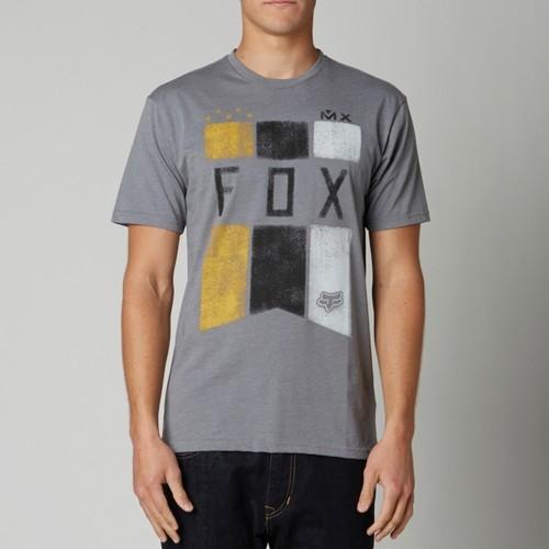 T-SHIRT FOX PHATEON SS TEE HEATHER GRAPHITE XXL