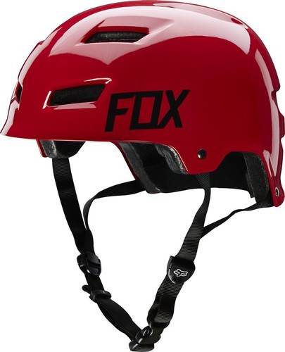 KASK ROWEROWY FOX TRANSITION HARDSHELL RED S