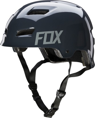 KASK ROWEROWY FOX TRANSITION HARDSHELL CHARCOAL S