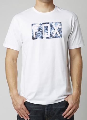 T-SHIRT FOX CROOZADE OPTIC WHITE M