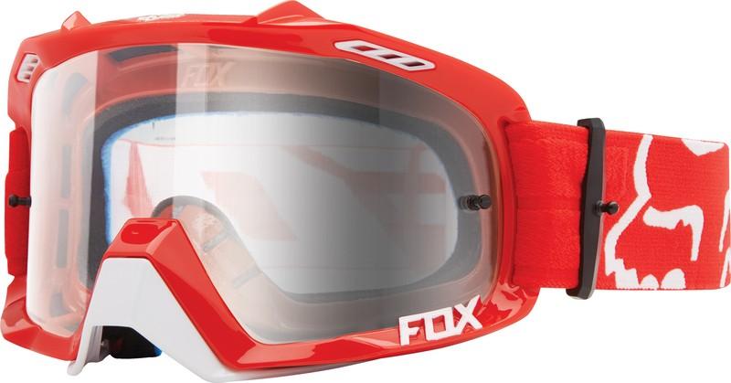 GOGLE FOX AIR DEFENCE RACE RED - SZYBA CLEAR (1 SZYBA W ZESTAWIE)