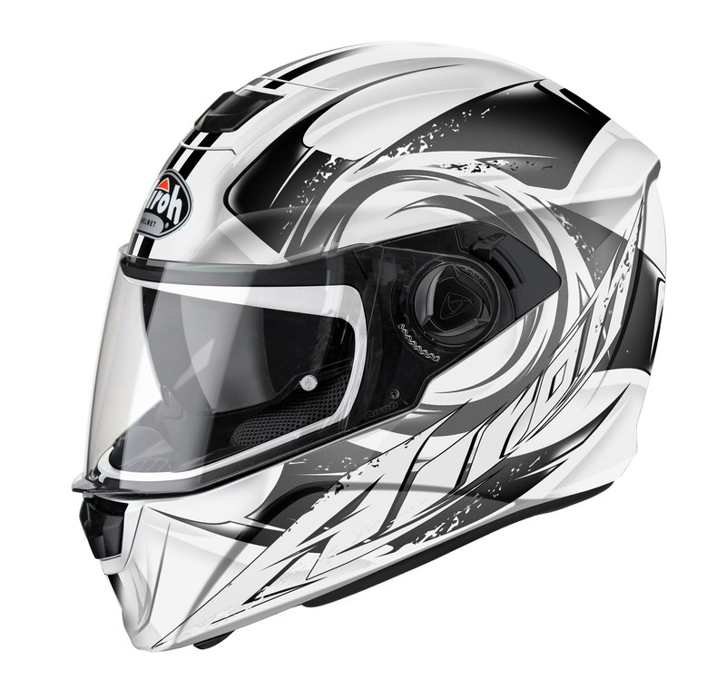KASK AIROH STORM ANGER GREY GLOSS XL