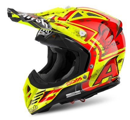 KASK AIROH AVIATOR 2.2 SIX DAYS 2017 GLOSS M