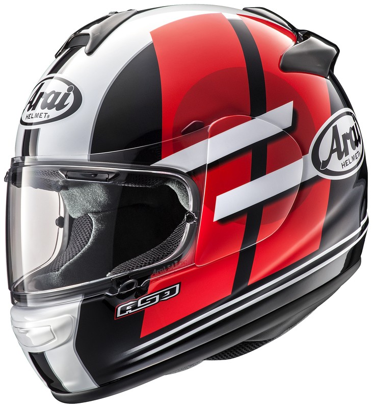 KASK ARAI AXCES III SENSAI RED XXL