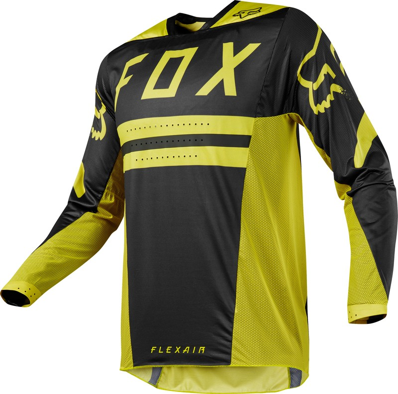 BLUZA FOX FLEXAIR PREEST DARK YELLOW L