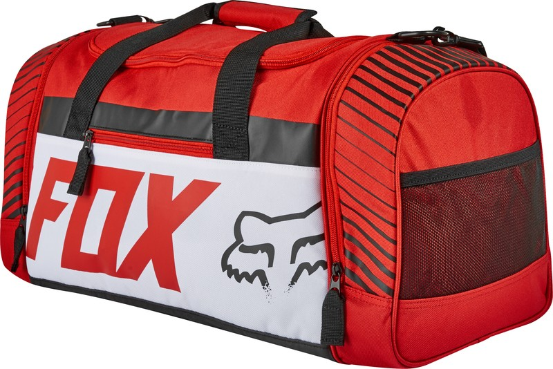 TORBA FOX 180 DUFFLE BAG PRINT RED OS