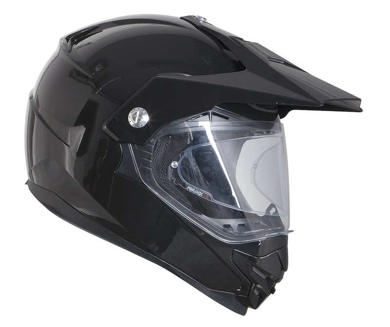 KASK OZONE CROSS MXT-01 PINLOCK READY BLACK