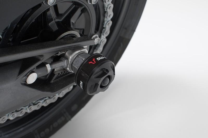 SLIDERY TYLNEGO ZAWIESZENIA BMW G310R (16-)/HONDA X-ADV (16-) BLACK SW-MOTECH