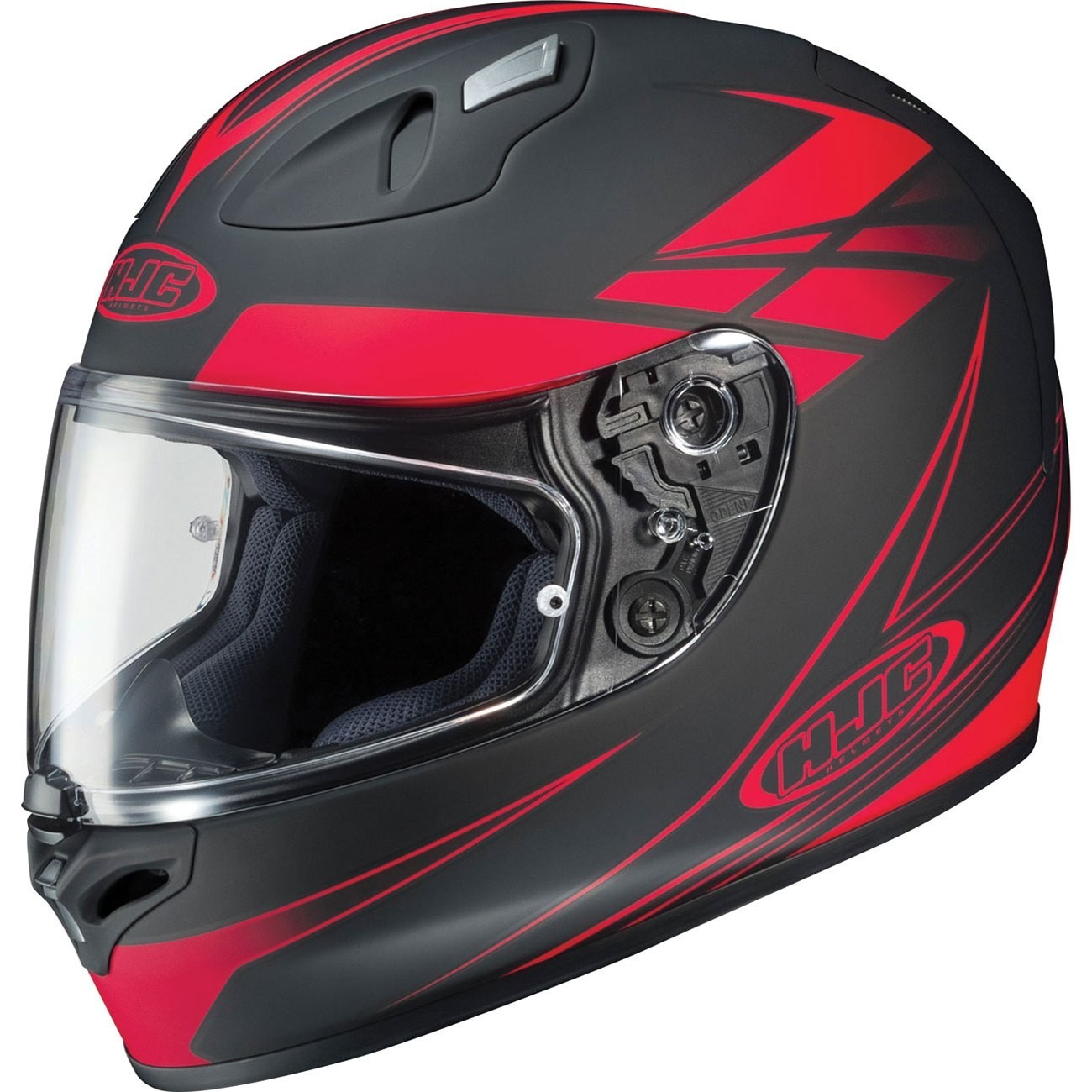 Kask HJC FG-17 FORCE BLACK/RED rozmiar XL