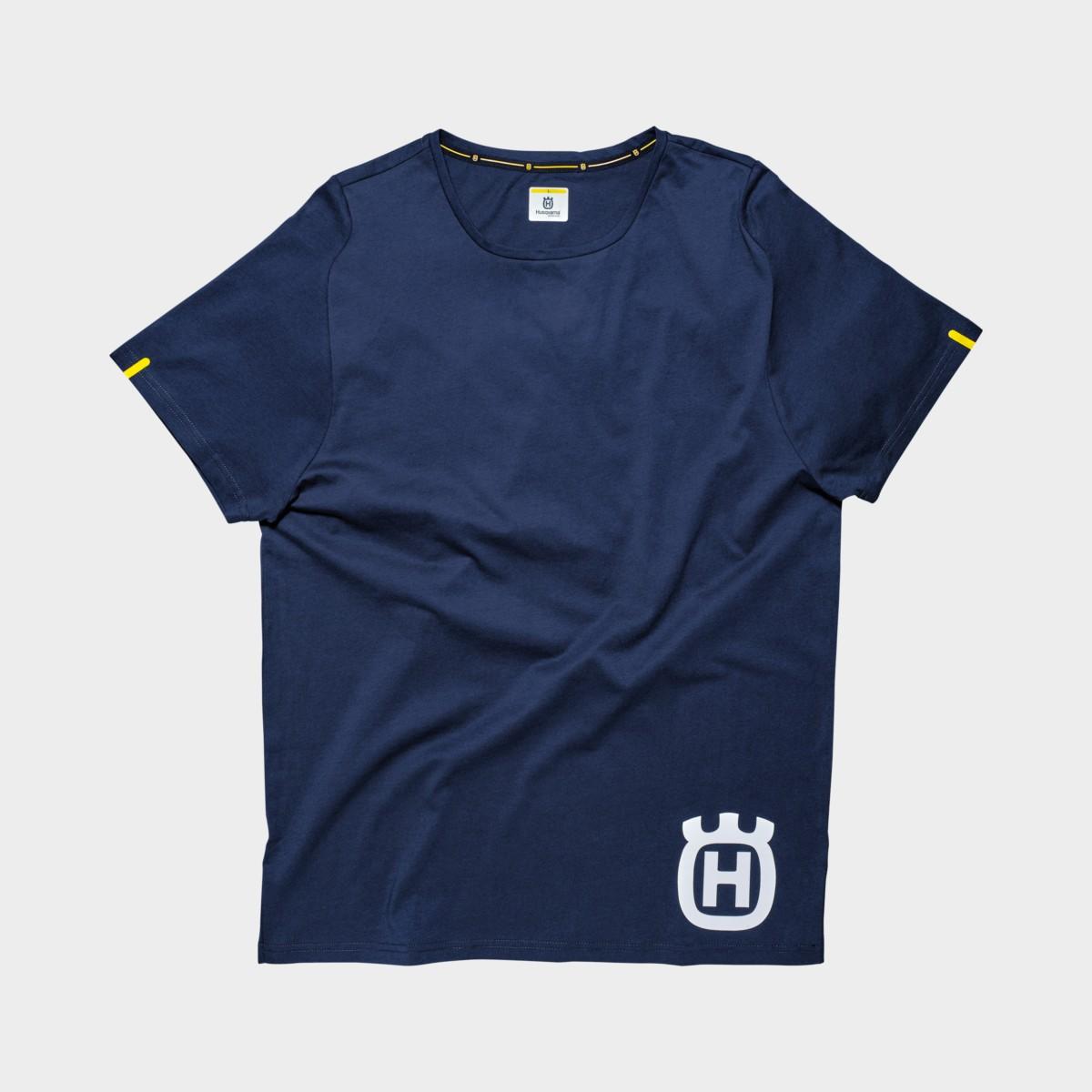 Koszulka T-shirt HUSQVARNA INVENTOR TEE BLUE