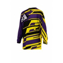 Bluza Acerbis JERSEY PROFIL MX Purple Yellow XXL