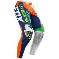 Spodnie motocyklowe Fox 360 Divizion Orange rozmiar 36/XL