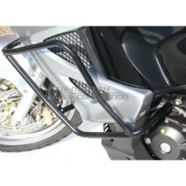CRASHBARY CZARNE HONDA XL 1000 V (04-05)+ 2003 (ABS) SW-MOTECH