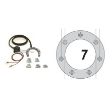 QUICK-LOCK TANK RING 7 ŚRUB HONDA