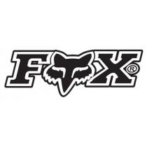 PODUSZKI POLICZKÓW FOX V2 ADULT BLACK M