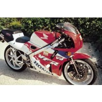 CRASH PADY HONDA VFR400R (NC30) BLACK