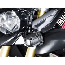 ZESTAW MONTAŻ. LAMP HAWK-LIGHT SW-MOTECH BLACK -TRIUMPH TIGER 800XC (11-.)