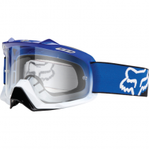 GOGLE FOX AIR SPACE RACE BLUE WHITE FADE - SZYBA CLEAR  (1 SZYBA W ZESTAWIE)