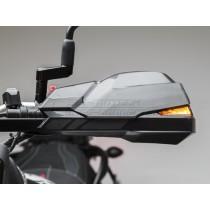 OSŁONY DŁONI KOBRA HONDA XL 600/650/700 V (PODŚWIETLENIE LED) BLACK SW-MOTECH