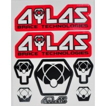 STICKER ATLAS BRACE 12''X14'' STICKER KIT