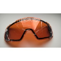 SZYBA DO GOGLI FOX AIR SPACE ORANGE DUAL PANE