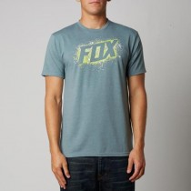 T-SHIRT FOX SIDE WINDER HEATHER SLATE S