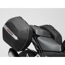 STELAŻ EVO NA KUFRY BOCZNE HONDA CB500F/X CBR500RR(13-) BLACK SW-MOTECH