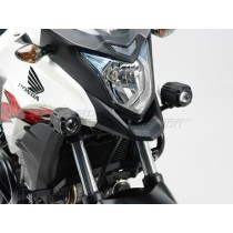 ZESTAW MONTAŻOWY LAMP HAWK-LIGHT BLACK HONDA CB500X (13-) SW-MOTECH