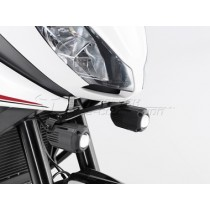 ZESTAW MONTAŻOWY LAMP HAWK-LIGHT BLACK TRIUMPH TIGER 1050 SPORT (13-) SW-MOTECH