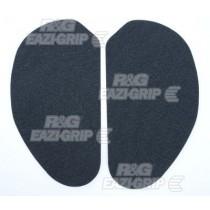 TANKPAD ANTYPOŚLIZGOWY 2 CZĘŚCI HONDA CBR600 STEEL FRAMED (87-98) BLACK