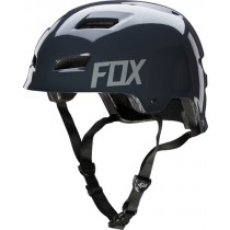KASK ROWEROWY FOX TRANSITION HARDSHELL CHARCOAL