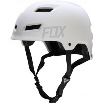 KASK ROWEROWY FOX TRANSITION HARDSHELL WHITE MATT L