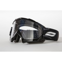 GOGLE OZONE MUD MX BLACK OS