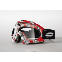 GOGLE OZONE MUD MX WHITE GRAPHICS OS