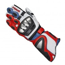 RĘKAWICE HELD TITAN EVO WHITE/RED/BLUE