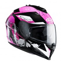 KASK HJC IS-17 PINK ROCKET BLACK/PINK XS
