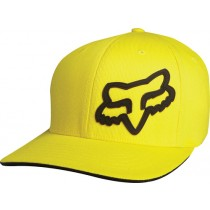 CZAPKA Z DASZKIEM FOX JUNIOR SIGNATURE YELLOW YOS
