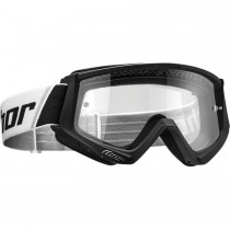 Gogle cross enduro Thor COMBAT BLACK/WHITE