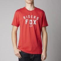 T-SHIRT FOX D.T.R. RED XL