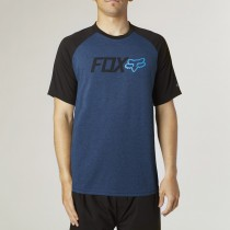 T-SHIRT FOX WARMUP HEATHER ELECTRIC BLUE S
