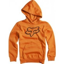BLUZA FOX JUNIOR Z KAPTUREM LEGACY ORANGE YM