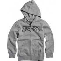 BLUZA FOX JUNIOR Z KAPTUREM NA ZAMEK LEGACY HEATHER GRAPHITE YM