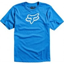 T-SHIRT FOX JUNIOR LEGACY BLUE Y