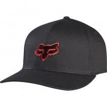 CZAPKA Z DASZKIEM FOX JUNIOR LEGACY BLACK/RED YOS