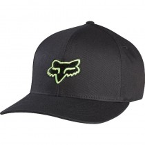 CZAPKA Z DASZKIEM FOX JUNIOR LEGACY BLACK/GREEN YOS
