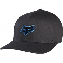 CZAPKA Z DASZKIEM FOX JUNIOR LEGACY BLACK/BLUE YOS