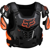 BUZER FOX ADULT RAPTOR VEST BLACK/ORANGE