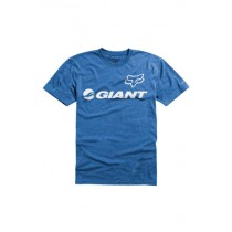 T-SHIRT FOX GIANT HEATHER BLUE