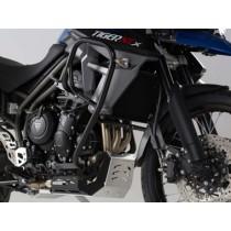 CRASHBARY TRIUMPH TIGER 800 / XC (10-) BLACK SW-MOTECH